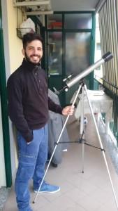 Io col mio primo telescopio: un Bresser spremuto fino all'osso