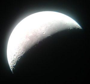 La Luna il 21 Giugno 2014