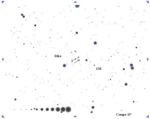 Asteroide Dike club 100 asteroidi