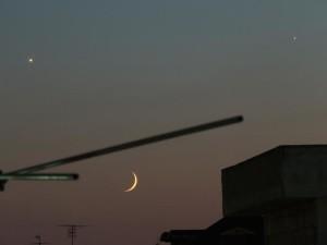 Congiunzione Venere Giove Luna Planetaria1