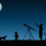 Un telescopio a cena: presso l'Agriturismo La Roccia
