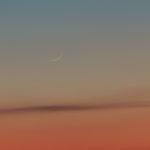 Luna al primo giorno