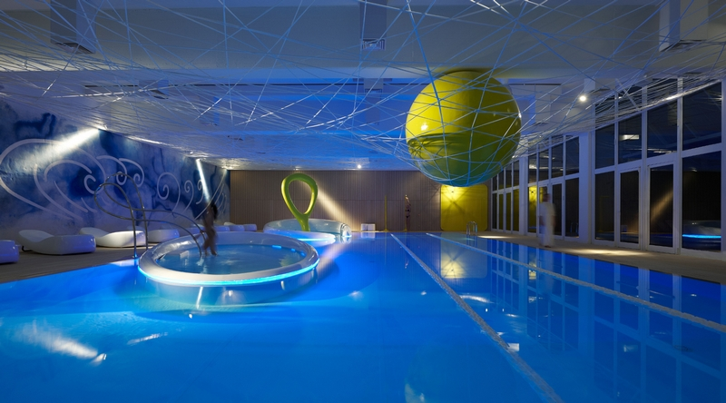 Astronomia olgiata golf club roma park hotel ai for Piscina wellness roma