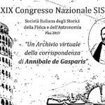 Con Annibale de Gasparis al XXXIX Congresso della SISFA!