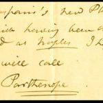 Annibale de Gasparis ed una Parthenope nel cielo a John Herschel!