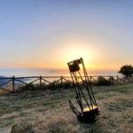 Osservazioni al telescopio da La Baita sui Golfi – Monte Comune